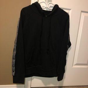 Black American eagle hoodie (L)